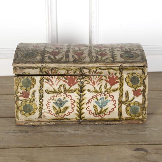 19th Century Folk Art Marriage Coffer DA5110172