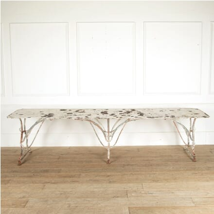 19th Century French Arras Iron Table GA4411331