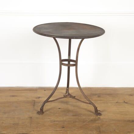 French 19th Century Arras Iron Table GA9016815