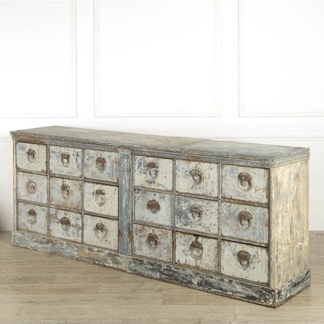 19th Century French Bank of Drawers CC119203