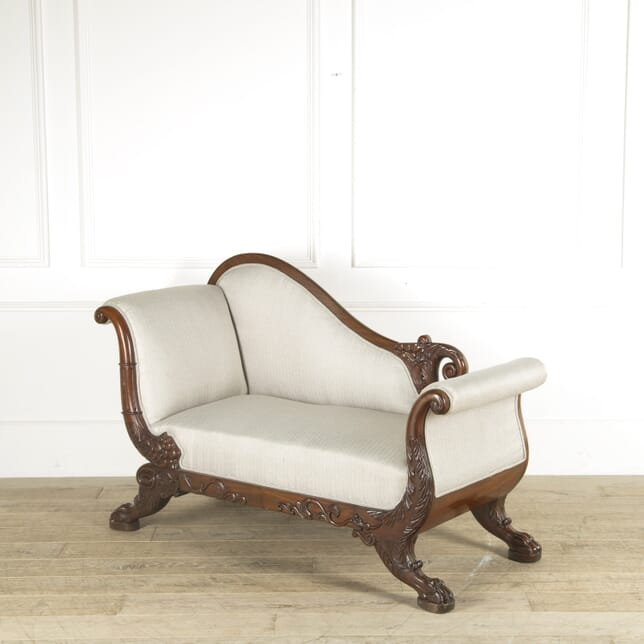 19th Century French Carved Settee SB889536