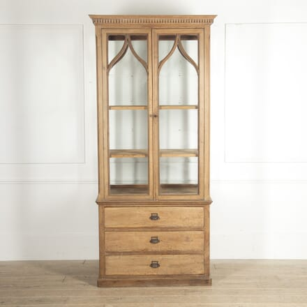 French 19th Century Collector's Cabinet BK2815538