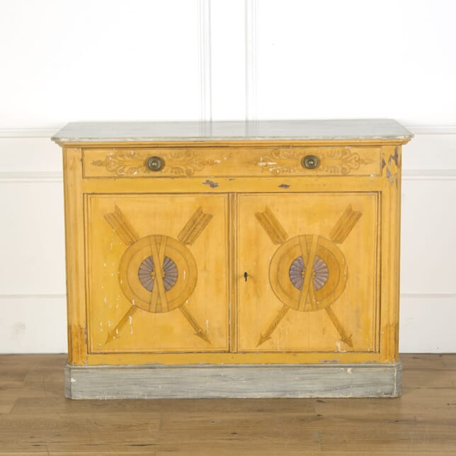 19th Century French Decorated Cabinet BU039978