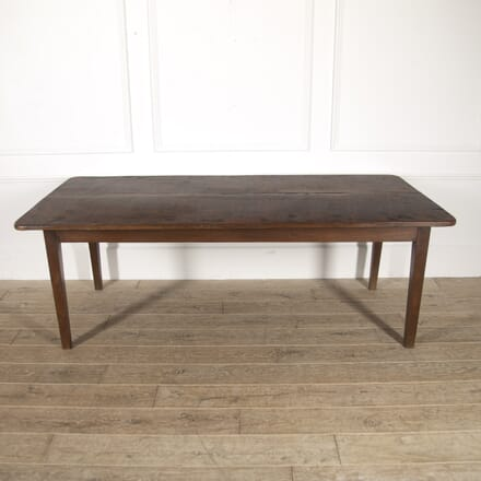 19th Century French Fruitwood Farmhouse Table TD8814830