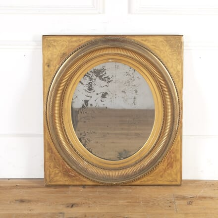 19th Century French Gilt Mirror MI7359928