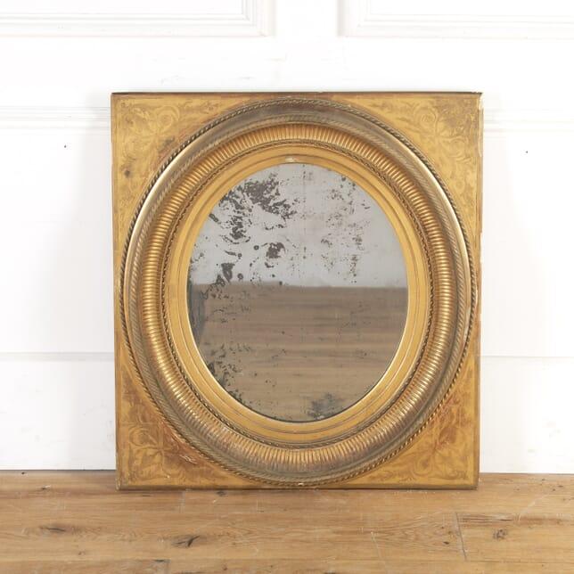 19th Century French Gilt Mirror MI7359928