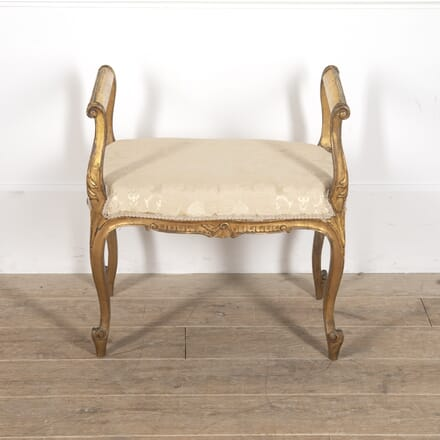 French 19th Century Giltwood Stool ST8816082