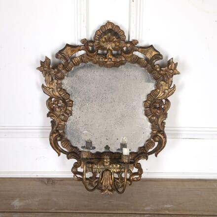 French 19th Century Girondelle Giltwood Mirror MI8015104