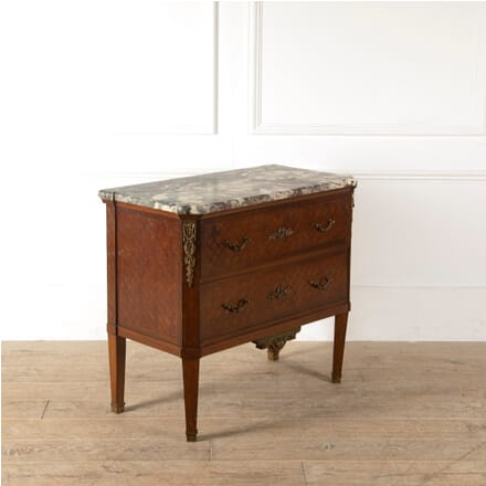 19th Century French Mahogany and Parquetry Commode CC8810866