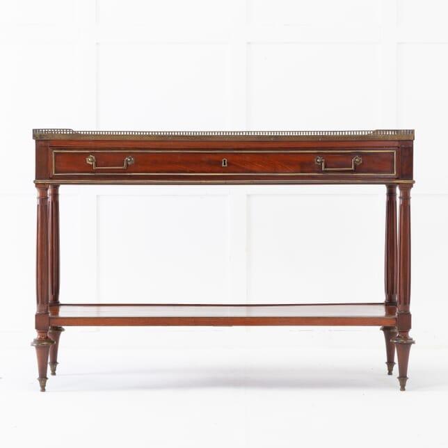 19th Century French Mahogany Console Table CO0617134