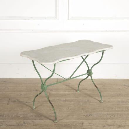 19th Century French Metal Garden Table GA1510469
