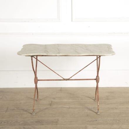 19th Century French Metal Garden Table GA1510470