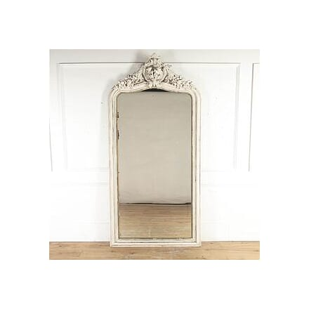 French 19th Century Painted Mirror MI8715299