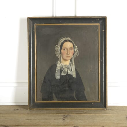 19th Century French Oil Portrait WD0910098