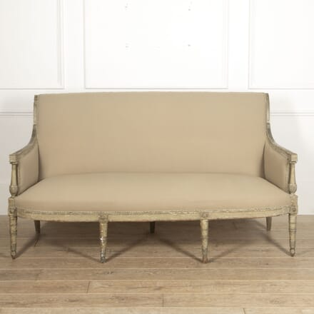French 19th Century Painted Canapé Sofa SB2815535