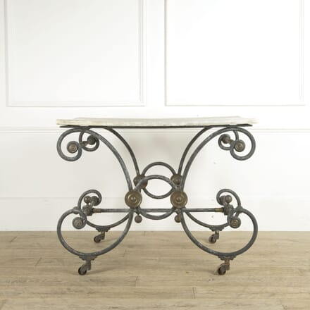 French 19th Century Pâtisserie Table TD1110222