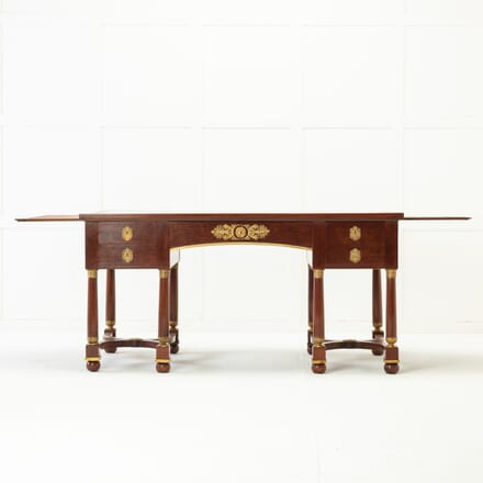 French 19th Century Mahogany Bureau Plat DB0616865