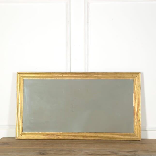 19th Century French Reeded Mirror MI639007