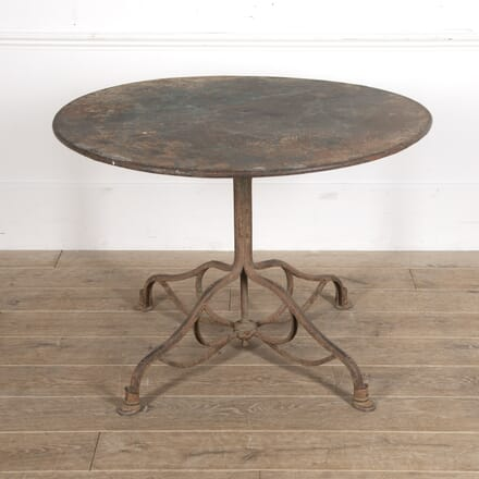 French 19th Century Arras Iron Table GA4416084
