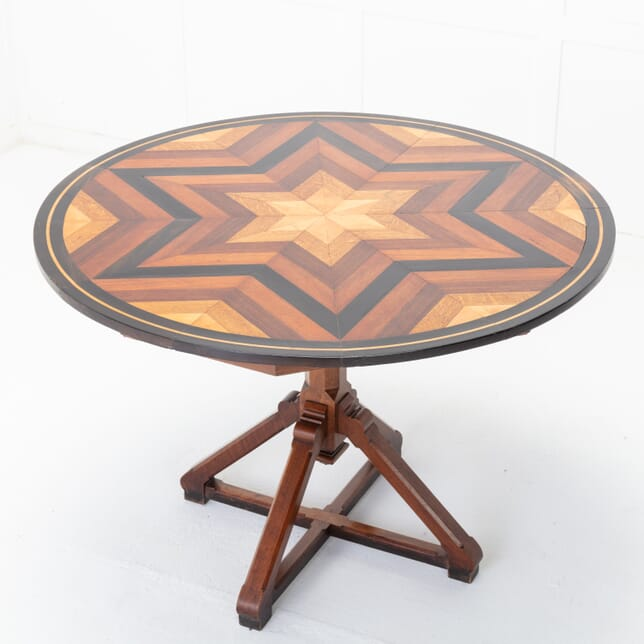 French 19th Century Specimen Inlaid Centre Table TC0616379