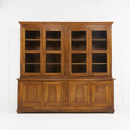 19th Century French Walnut Bookcase BK068919