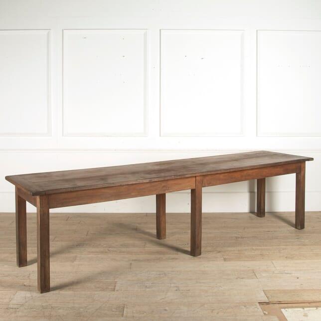 19th Century French Walnut Farmhouse Table TD0110302