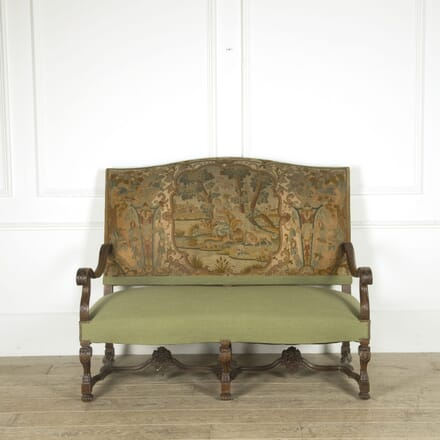19th Century French Walnut Sofa SB529794