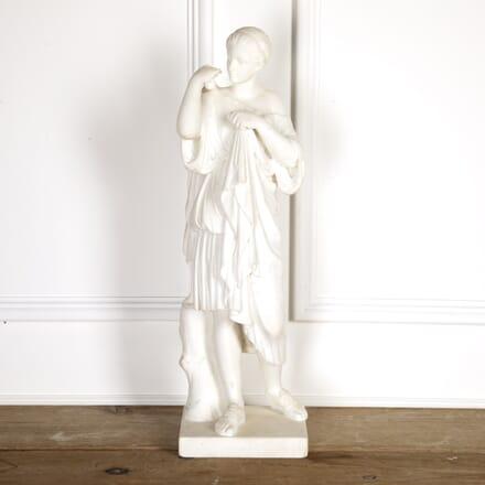 19th Century Grand Tour Marble Statue of Diane DA0316883