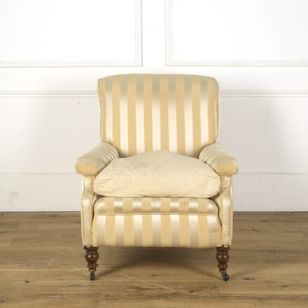 19th Century Howard Style Down Filled Armchair CH2710030