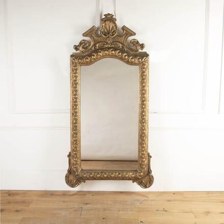 Italian 19th Century Baroque Gilt Mirror MI8716079