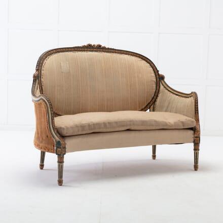 Italian 19th Century Carved Sofa CH0616053