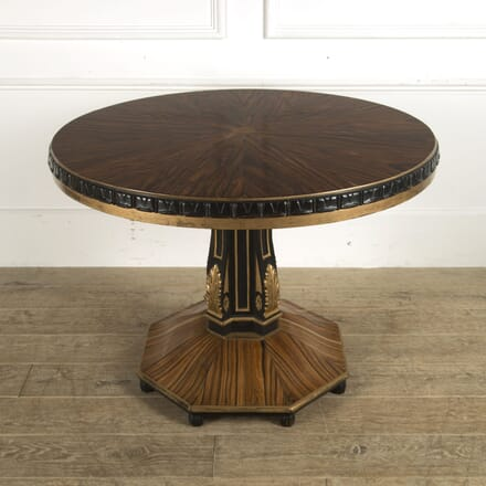 19th Century Italian Coromandel Centre Table TC0310156