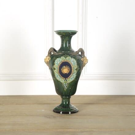 19th Century Italian Majolica 'Renaissance Revival' Vase DA599484