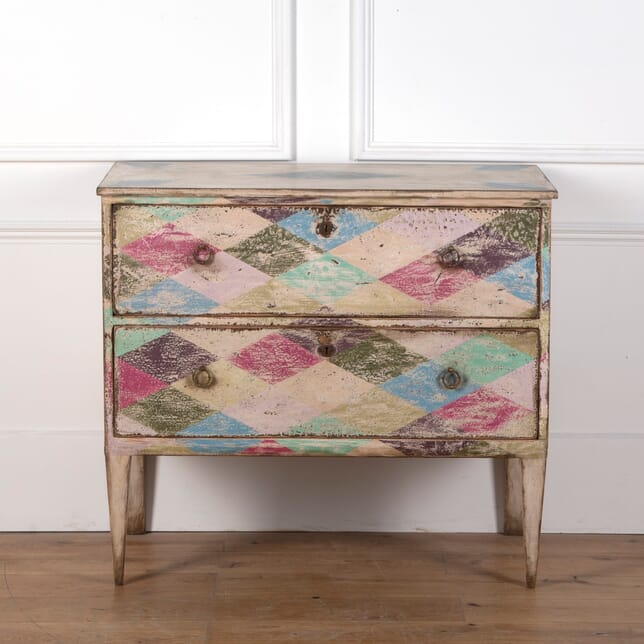 19th Century Italian Painted Commode CC7310648