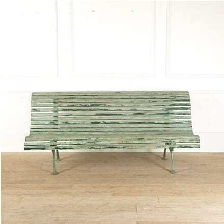19th Century Large French Garden Bench GA1510464