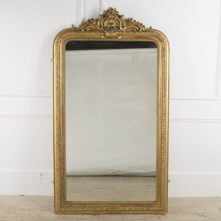 19th Century Large French Gilt Mirror MI2010331