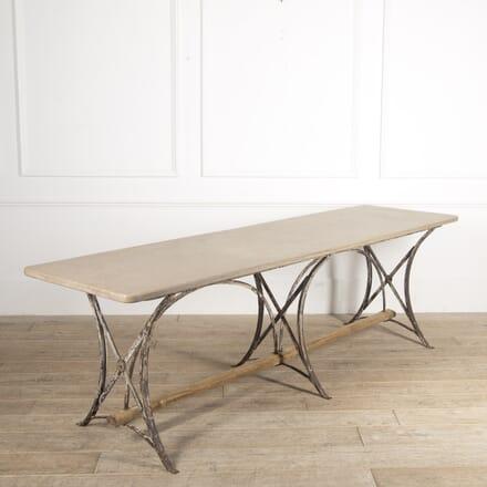 Swiss 19th Century Long Marble Table DA4414649