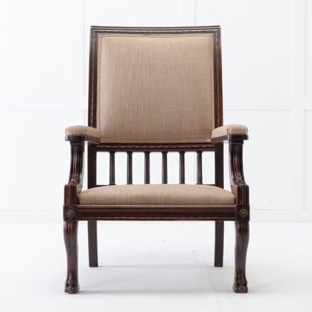 19th Century Mahogany Armchair CH0617130