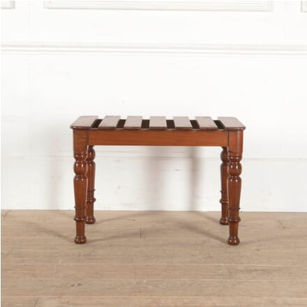19th Century Mahogany Luggage Stand BD8811186