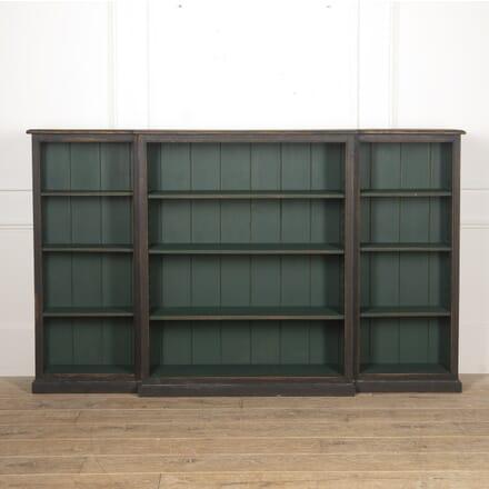 19th Century Narrow Breakfront Bookcase BK8217102