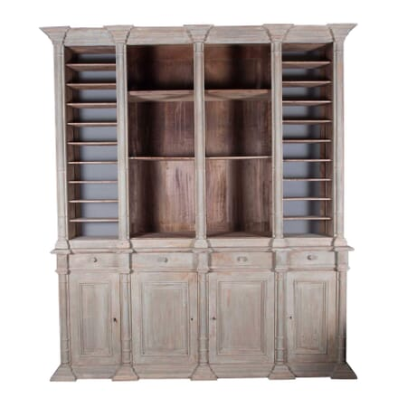 French 19th Century Notaire's Bookcase BK3514952
