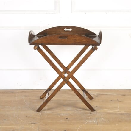 19th Century Oak Butler's Tray on Stand DA1014341