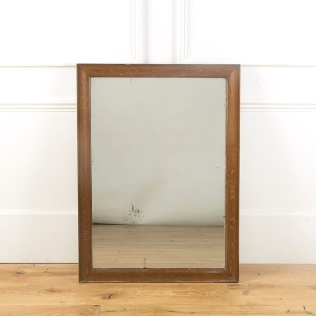 19th Century Oak Wall Mirror MI999936