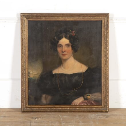 19th Century Portrait of a Lady WD8215914