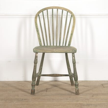 19th Century Painted West Country Side Chair CH0915578