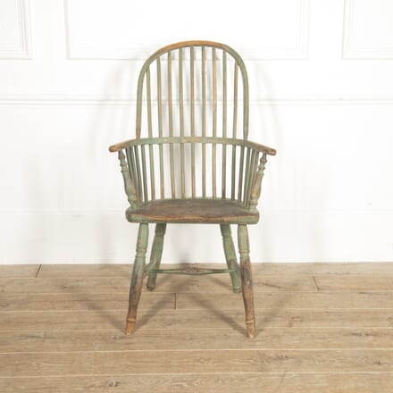 19th Century Painted West Country Windsor Armchair CH0915579