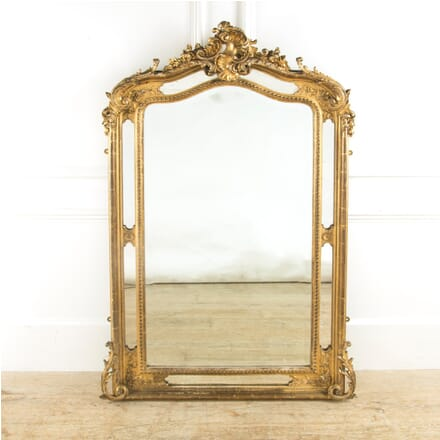 19th Century Ornate French Mirror MI889640