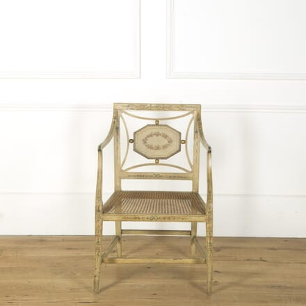 19th Century Painted Chair CH749402