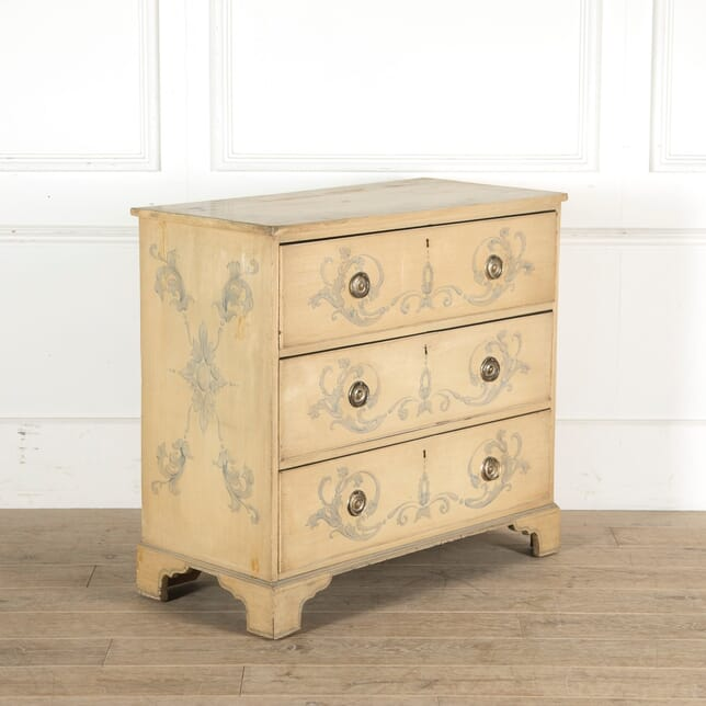 19th Century Painted Chest Of Drawers CC4510695