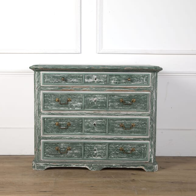 19th Century Painted Four Drawer Commode CC3610456